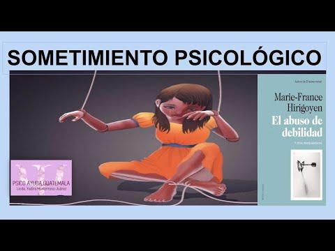 Dra. Marie-France Hirigoyen. El Abuso de Debilidad. Parte 2ª.из YouTube · Длительность: 46 мин41 с