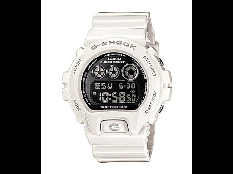 How To Set Time On Gshock Digital Youtube