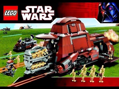 Lego 7662 Star Wars Trade Federation Mtt Instruction Manual Youtube