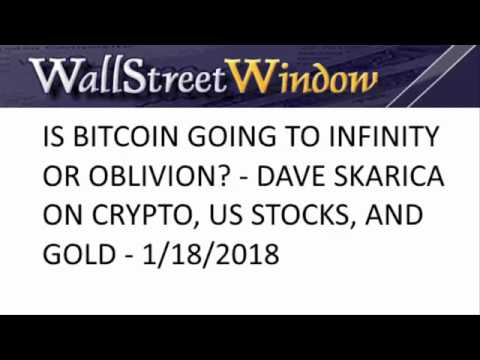 Markets Update with Dave Skarica: Bitcoin, DOW, Gold, and Europe - Mike Swanson (01/17/2018)