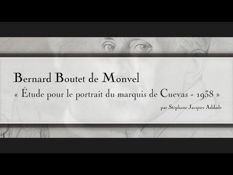 Bernard Boutet de Monvel - Étude pour le portrait du marquis de Cuevas - 1938
