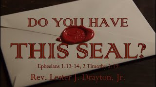 Do You Have This Seal?