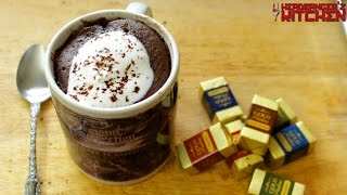 Chocolate Microwave Mug Cake (Eggless) | 2 Minute Cake Recipe | Headbanger