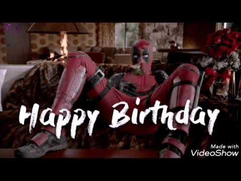 Поздравления с днем рождения для фанатов марвел