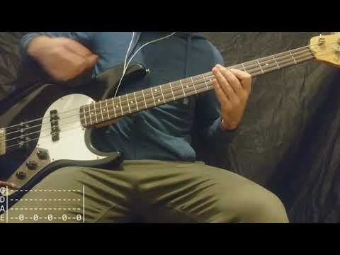 The Offspring - The Noose Bass Cover (Tabs)