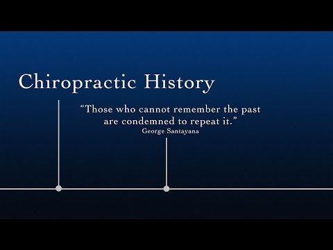 Chiropractic History:  The AMA Agenda To Destroy Competition