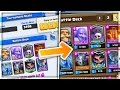 THE #1 DECK IN THE WORLD! | COPYING TOP DECKS in Clash Royale!
