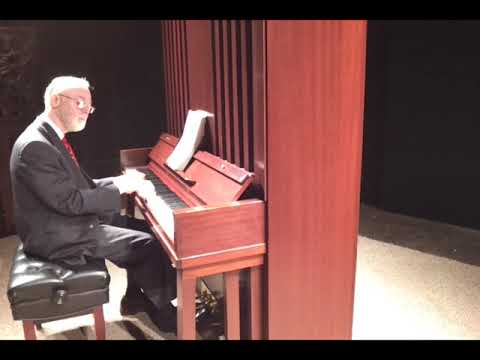 Pianist Mike Benjamin on the 7' Tall VCG Piano in 2013
