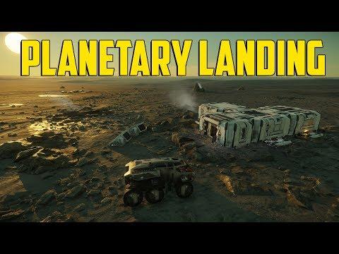 Star Citizen - Planetary Landing