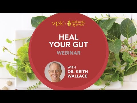 Heal Your Gut Webinar featuring Dr. Keith Wallace -- vpk by Maharishi Ayurveda