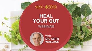 Heal Your Gut Webinar featuring Dr. Keith Wallace -- vpk by Maharishi Ayurveda