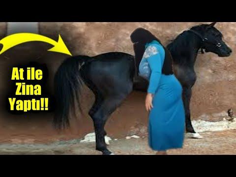 Kocasından Memnun Olmayan Kadın Atıyla Bakın Ne Kadar Haram Bir Şey Yaptı!!