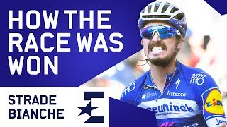 How The Race Was Won   Strade Bianche 2019 Highlights   Cycling   Eurosport