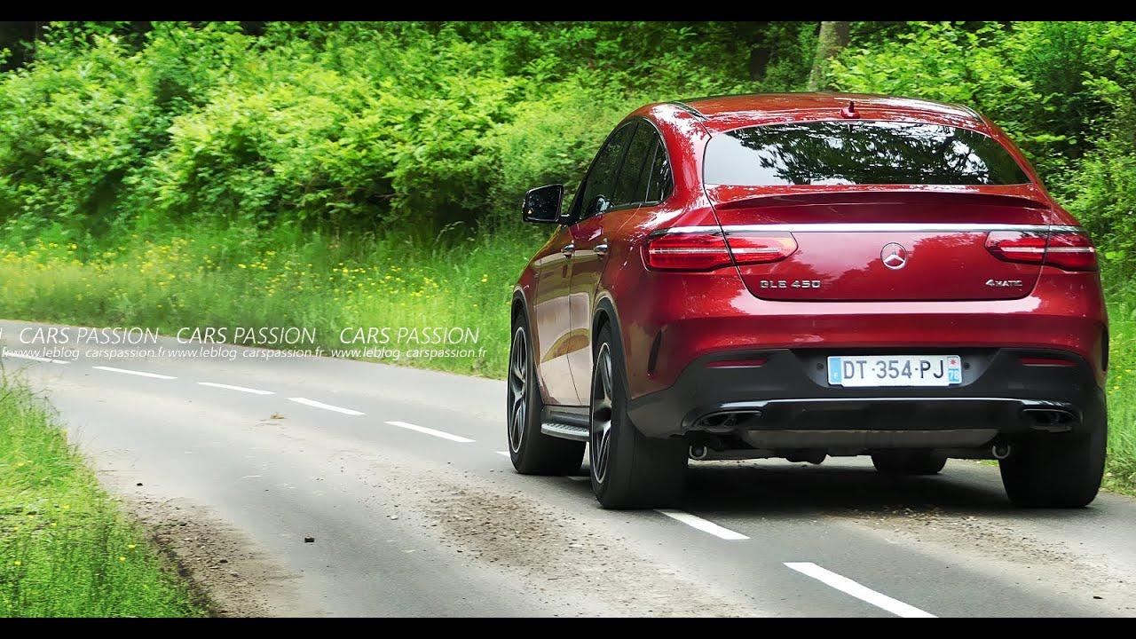 Acceleration Mercedes Gle Coupe 450 Amg 43 Amg 2016