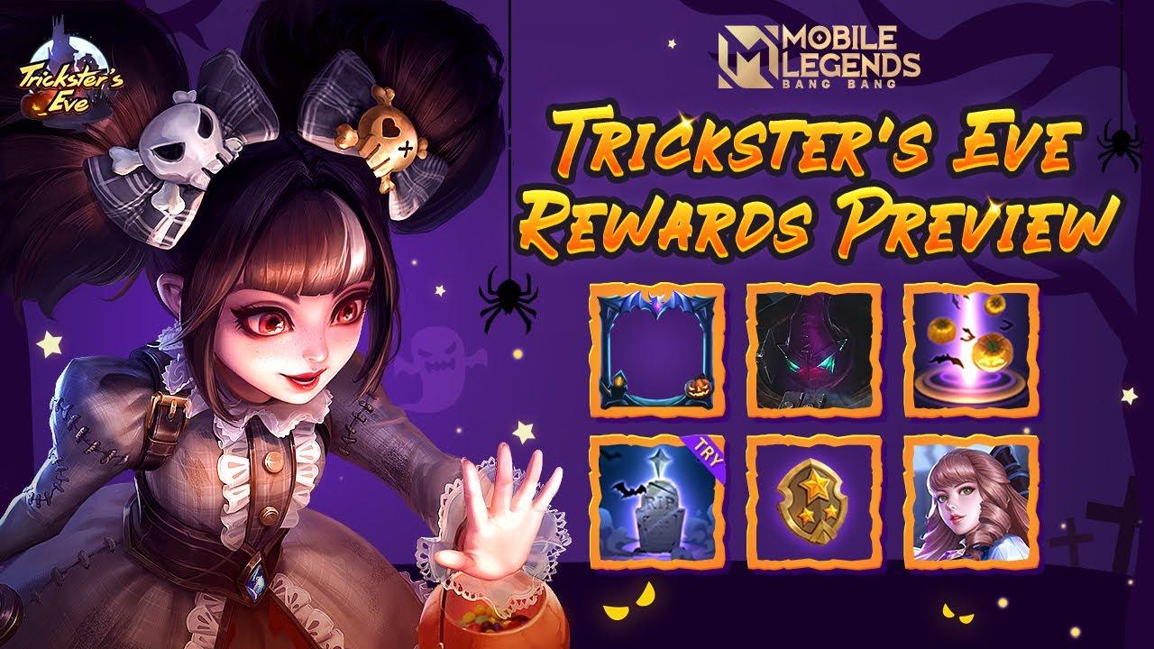Trickster's Eve Rewards | Event Trailer | Mobile Legends: Bang Bang!