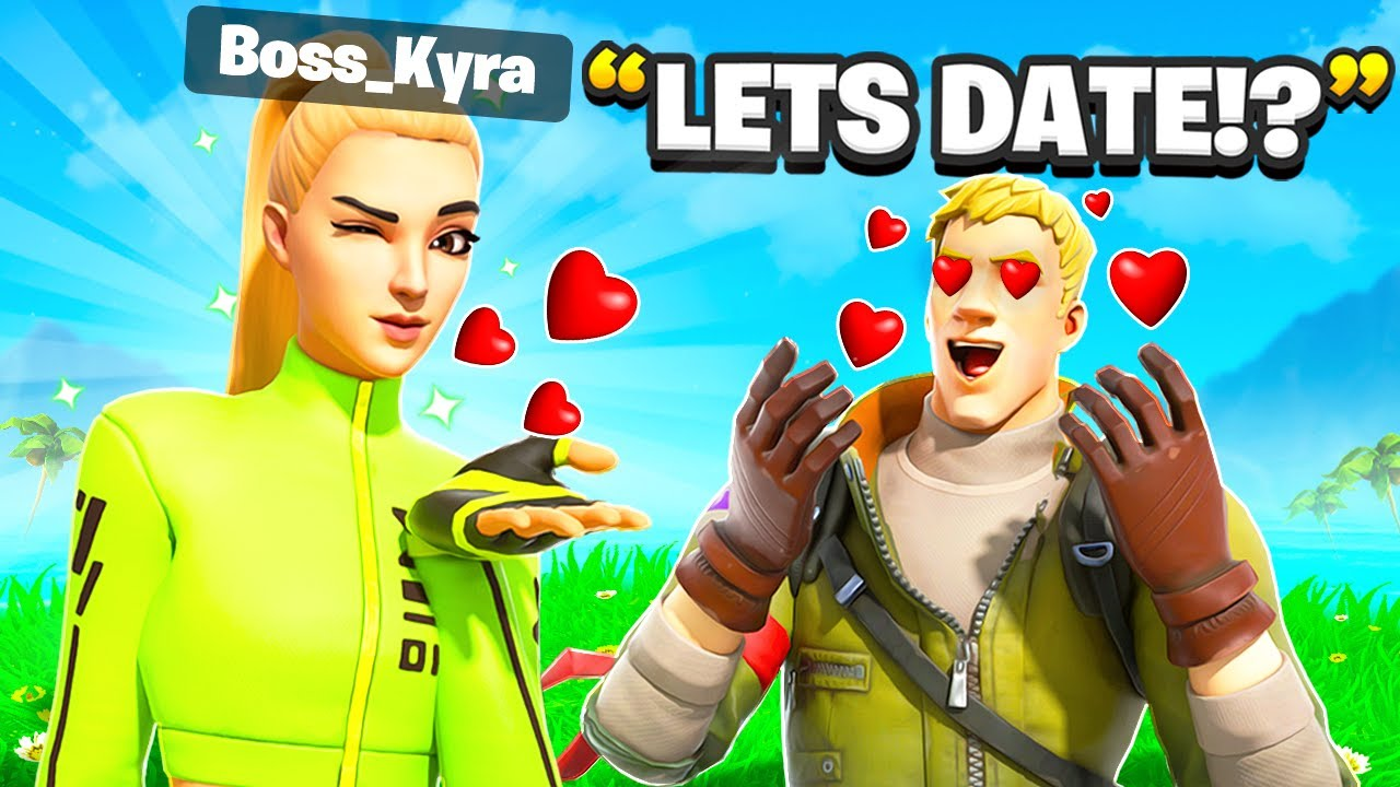 I Pretended To Be BOSS Kyra In Fortnite