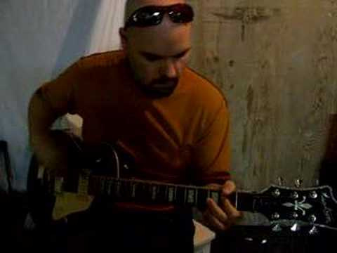 Pushing Daisies Hagstrom Guitar Demo Curtis