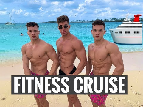 Bahamas Fitness Cruise Vlog // The Sweet Life of Calvin & Cory On Deck