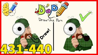 DOP Draw One Part Level 431 432 433 434 435 436 437 438 439 440 Solution or Walkthrough