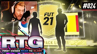 INSANE PACK LUCK!!- FIFA 21 First Owner Road To Glory! #24