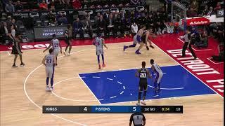 1st Quarter, One Box Video: Detroit Pistons vs. Sacramento Kings