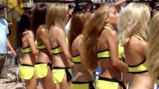 AVP Dance Girls Swimsuit Models in Manhattan Beach California