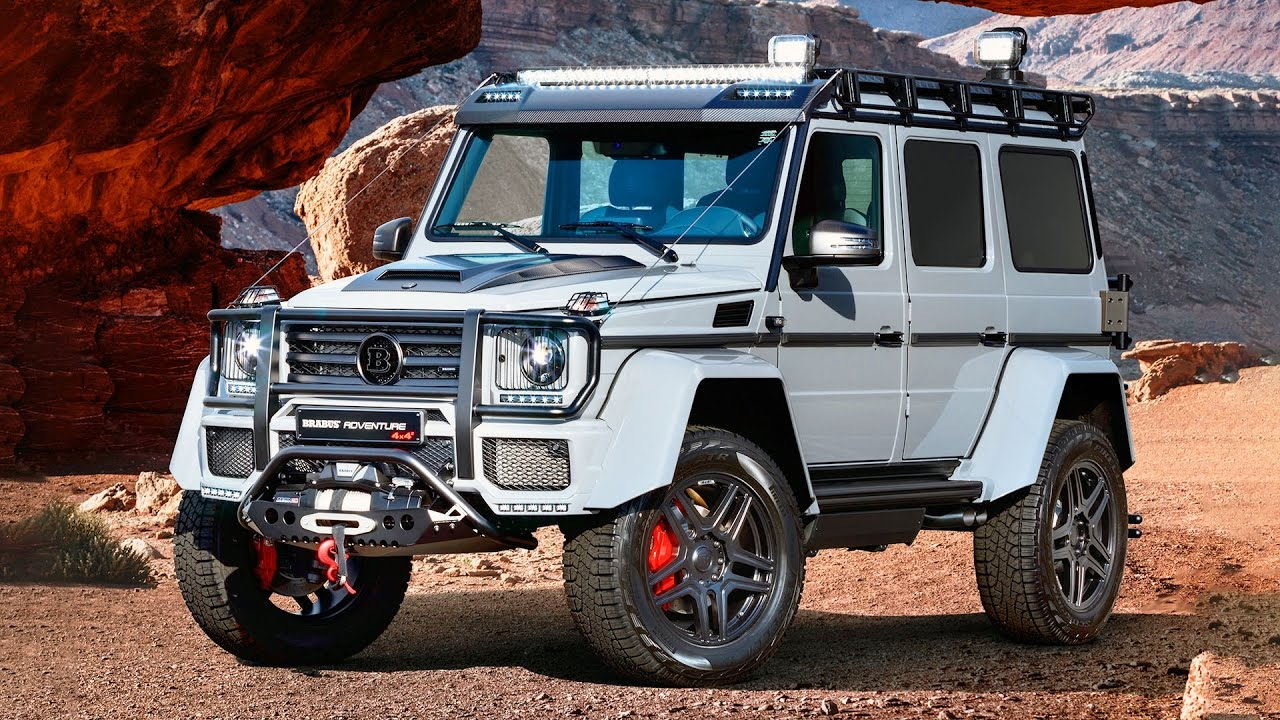 BRABUS 550 ADVENTURE 4×4² - Mercedes G500 4X4 - YouTube