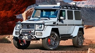 BRABUS 550 ADVENTURE 4×4² - Mercedes G500 4X4