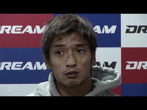 Hideo Tokoro  - Post-Fight Interview - DREAM.16