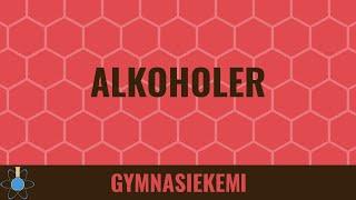Alkoholer - Organisk Kemi 3 - Kemi B