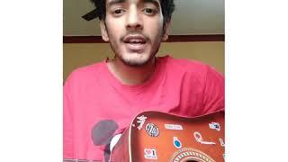 Aao Na (Goonji Si Hai Saari Fiza)  Raw Guitar Cover  Amit Payal Thumb