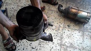 demontage catalyseur moteur peugeot 407 1.6 hdi - mecanique mokhtar tunisie