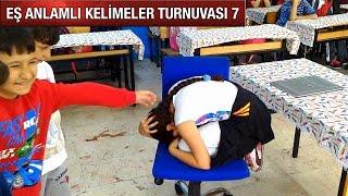 EŞ ANLAMLI KELİMELER TURNUVASI 7 (DEPREM TATBİKATI)