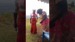 """Auntie LizB Performing Chege Wa Willy's song, """" ndiui undu ungi"""" in Rurashio ......"""