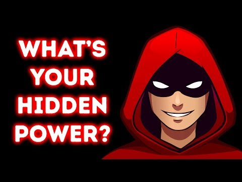 Whats Your Hidden Power? A True Simple Personality Test