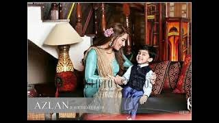 Reema Khan with her Husband and Son Azlan in USA