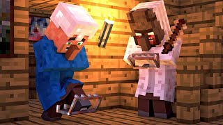 Granny vs Villager Life 6 - Granny Horror Game Minecraft Animation Alien Being