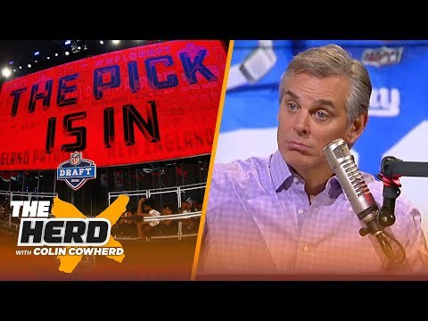 Colin Cowherd on the true value of a first-round draft pick, Green Bay's schedule | NFL | THE HERD