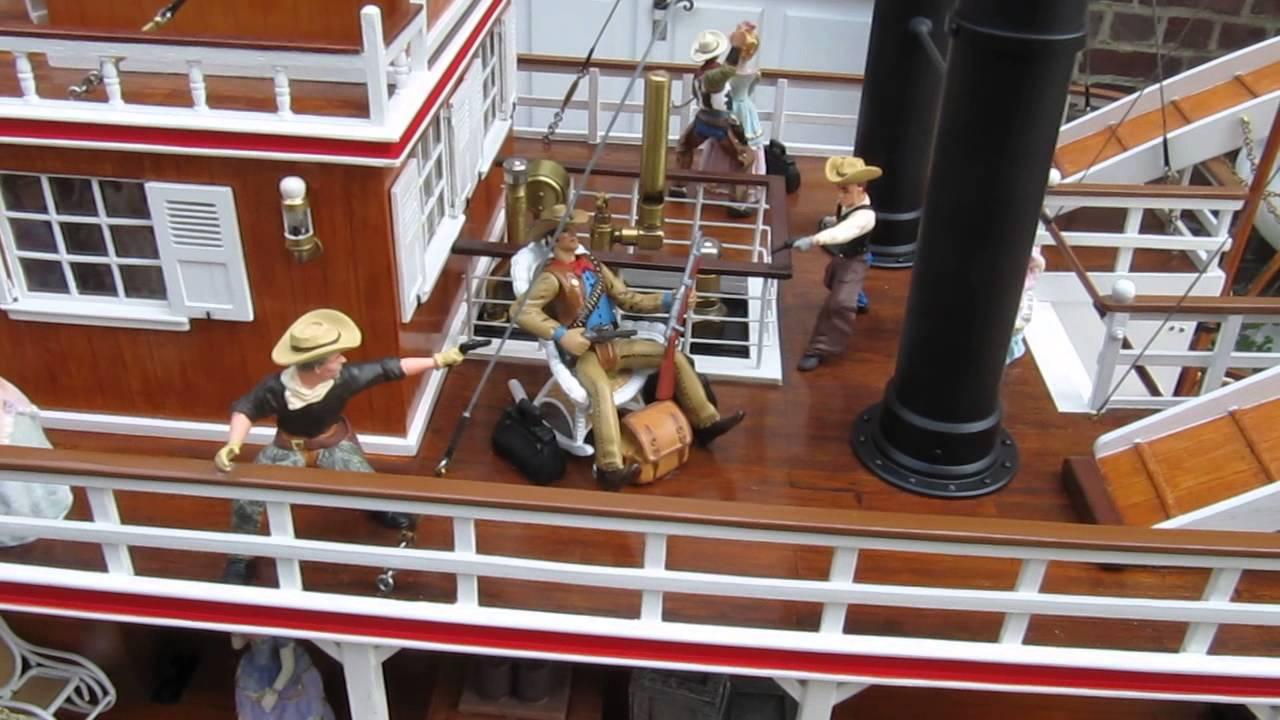 bateau vapeur steamboat rc lextraordinaire mississippi king of river dalex et jean pierre youtube