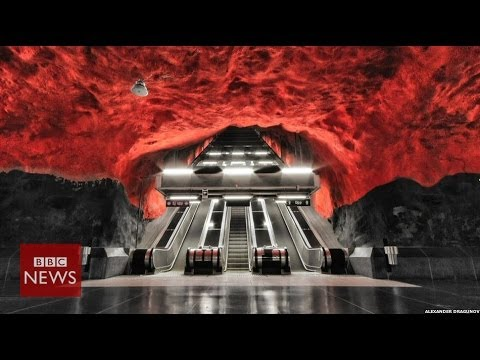 'The most beautiful metro in the world' - BBC News