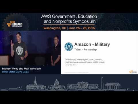 AWS Symposium - Washington, DC | Recruiting: AWS Veteran Hiring Programs