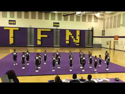 2018 Cheer Competition Ronald H. Brown's Mini Eagle's