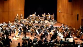 Elgar Cellokonzert 1.+2. Satz, Adagio-Moderato, Lento-Allegro molto; Sabine Krams
