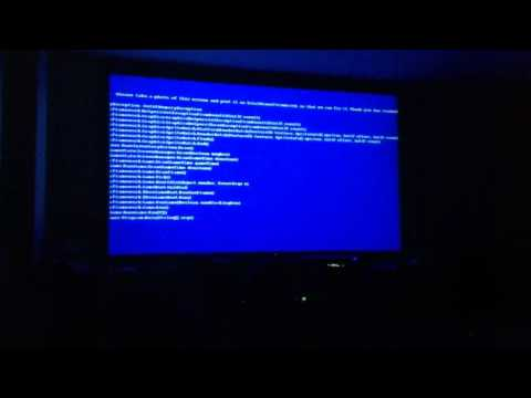 Xbox 360 Blue-Screen