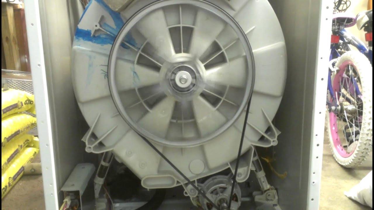 Washing Machine Test After Repair Of Inner Basket Spider