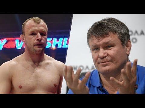 Александр Шлеменко против Олега Тактарова за его рекламу пива