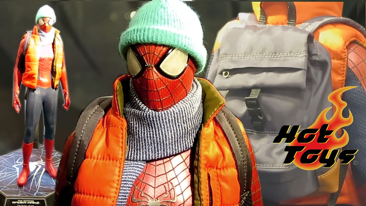 All New 2014 Toys : New hot toys amazing spider man wearing vest hat
