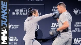 UFC 223: Joanna Jedrzejczyk full open workout