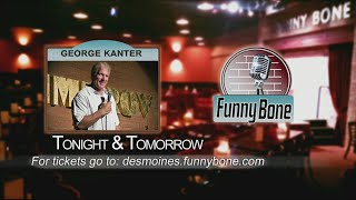 Comedian George Kanter at the Funny Bone Tonight