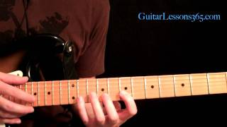 "Fast and Easy Kirk Hammett and Steve Vai Style Tapping ""Lick Of The Week"" Rock - Metal"
